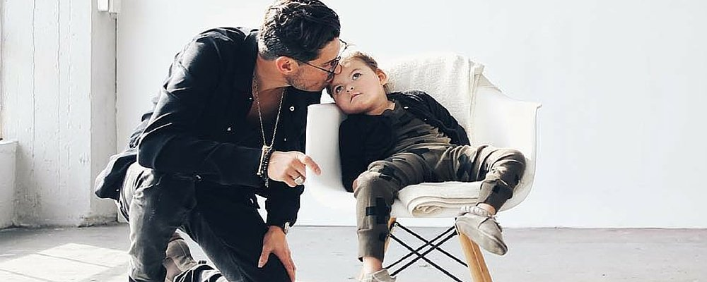 Chad Veach and his daughter Georgia