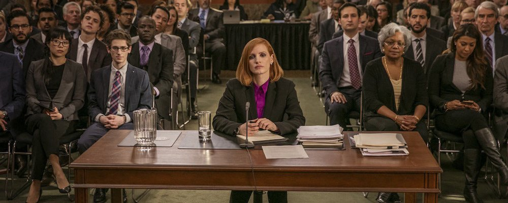 Miss Sloane: 60 Second Movie Review