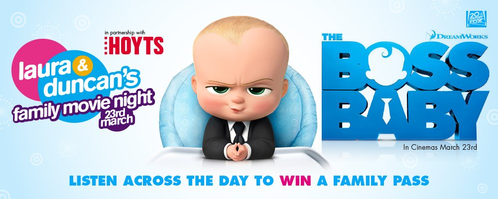 Win tickets to Hope 103.2's exclusive preview to Boss Baby