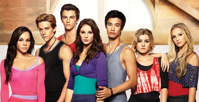 The Cast of Dance Academy