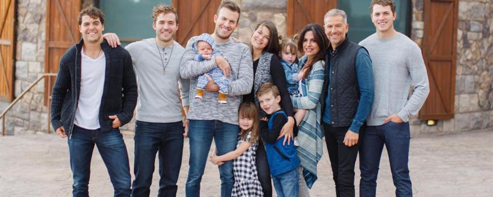 Lisa Bevere and her Family