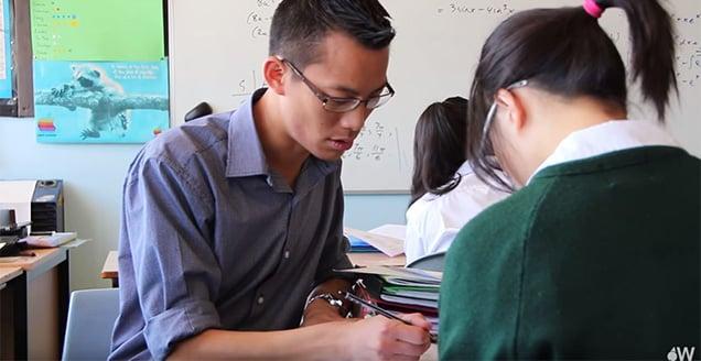 Eddie Woo, Teaching