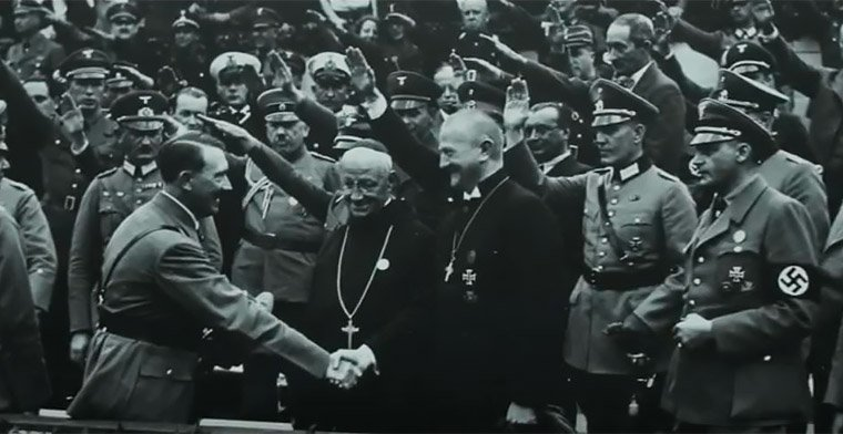 Church siding with Hitler