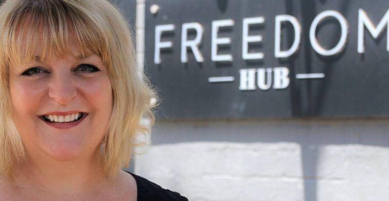 Sally Irwin founder of Freedom Hub