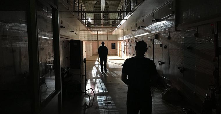 Rajan Narayan and Andrew Yang in Execution Island