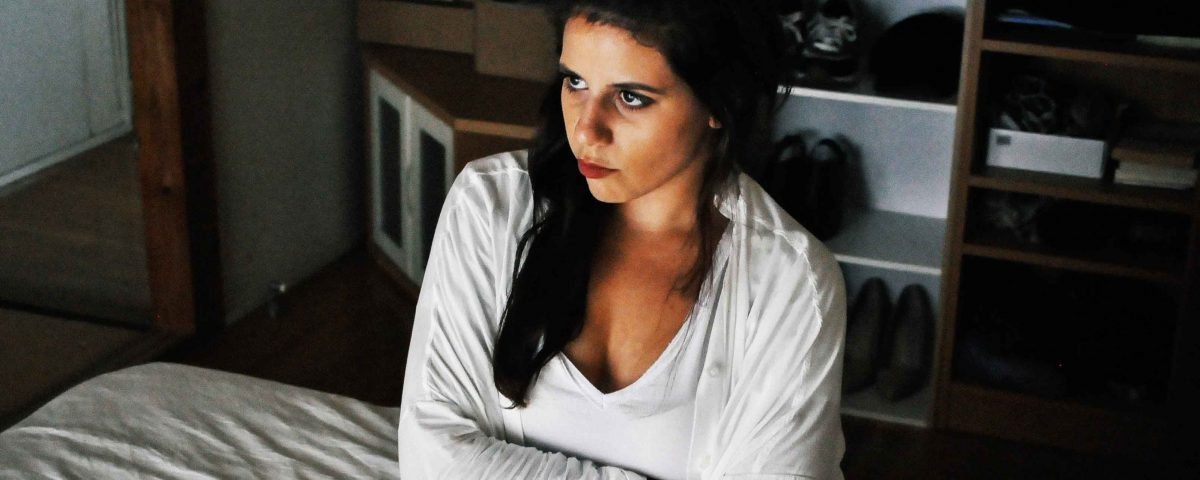 Young woman angry; seeking revenge