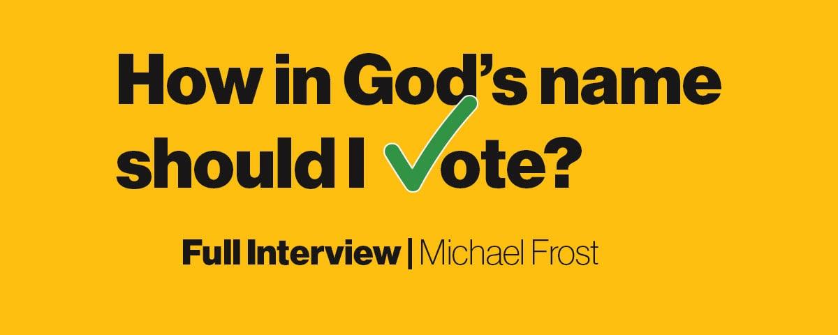 Bonus: Michael Frost | Full Interview - The Third Way