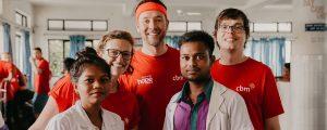 Hope Breakfast Team and Nepal Eye Hospital Doctors