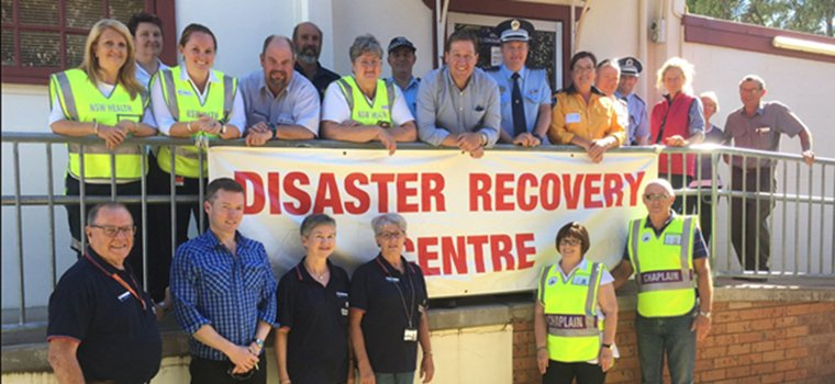 Chaplains at Coolah Recovery Centre