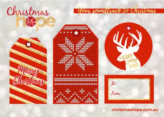 ChristmasHope's Advent Calendar Gift Tags