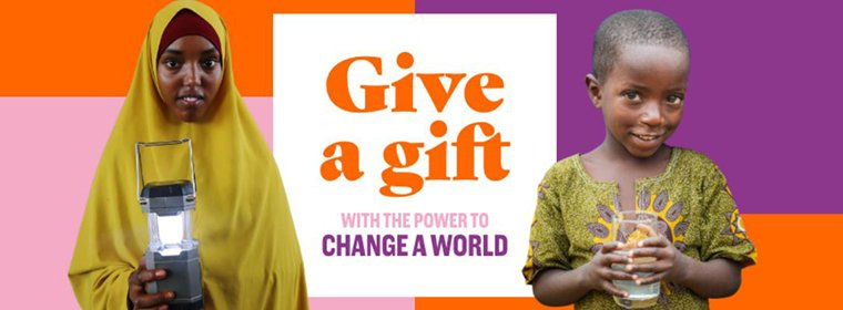 World Vision's Change a World Gifts