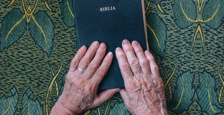 Woman's Hands with Bible