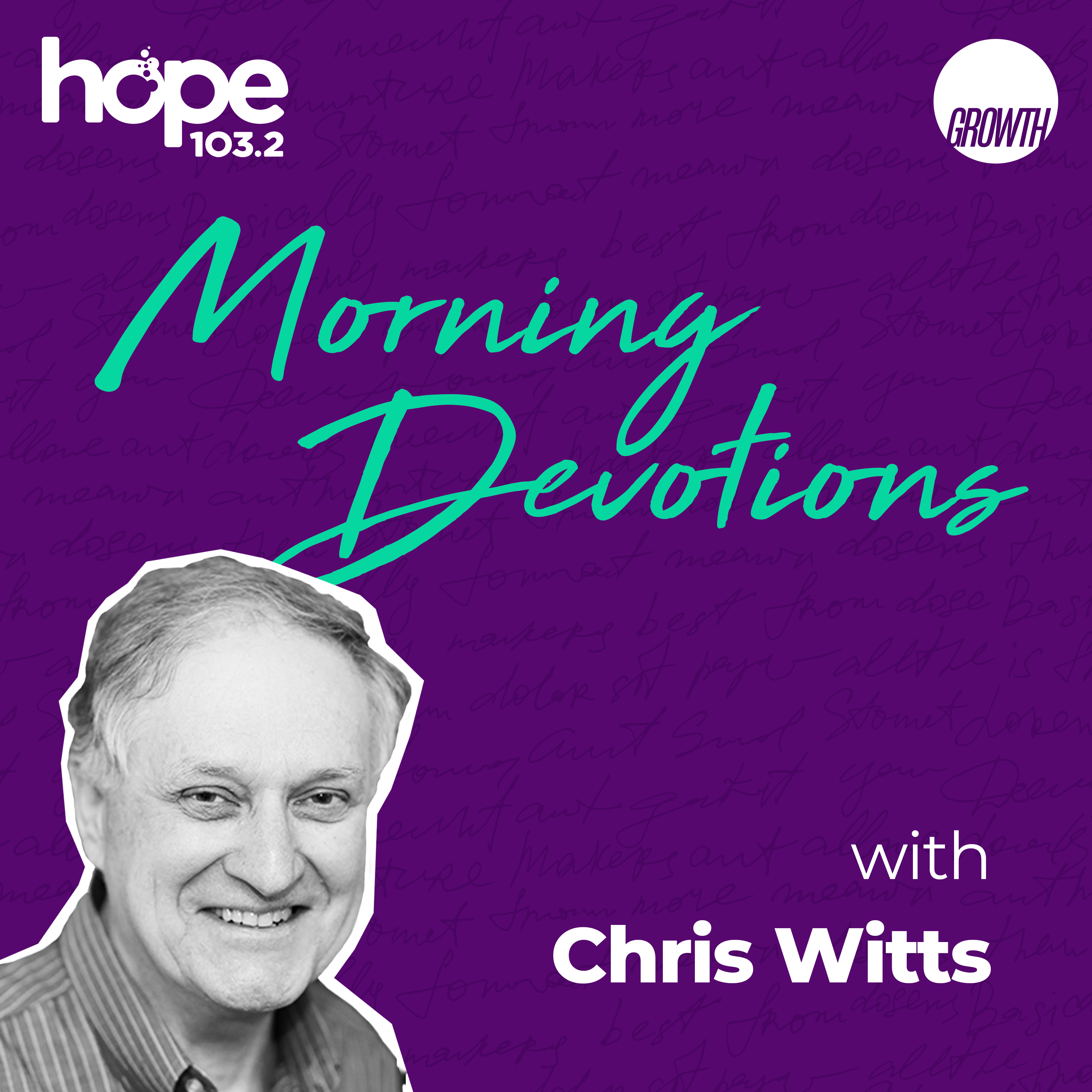Morning Devotions with Chris Witts podcast square banner