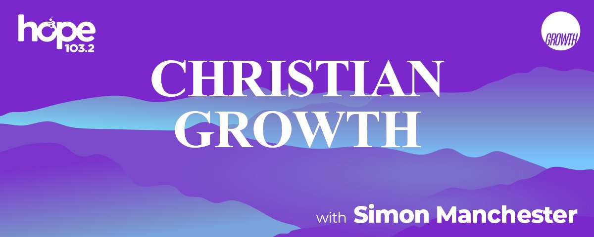 Christian Growth with Simon Manchester podcast hero banner