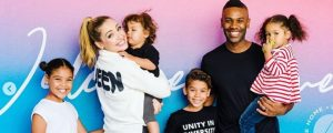 Emma and Terrence Mullings and kids