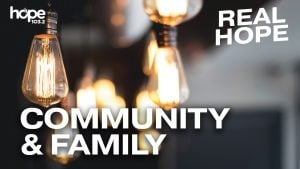 YouVersion Community & Family theme in the Real Hope 2020 Devotions