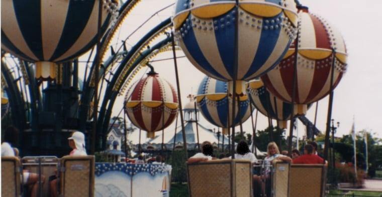 Balloons ride at Wonderland