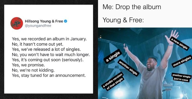 Hillsong Young & Free Memes