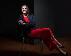 Macquarie University marine researcher Dr Vanessa Pirotta
