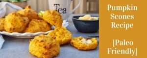 Pumpkin Scones Paleo recipe