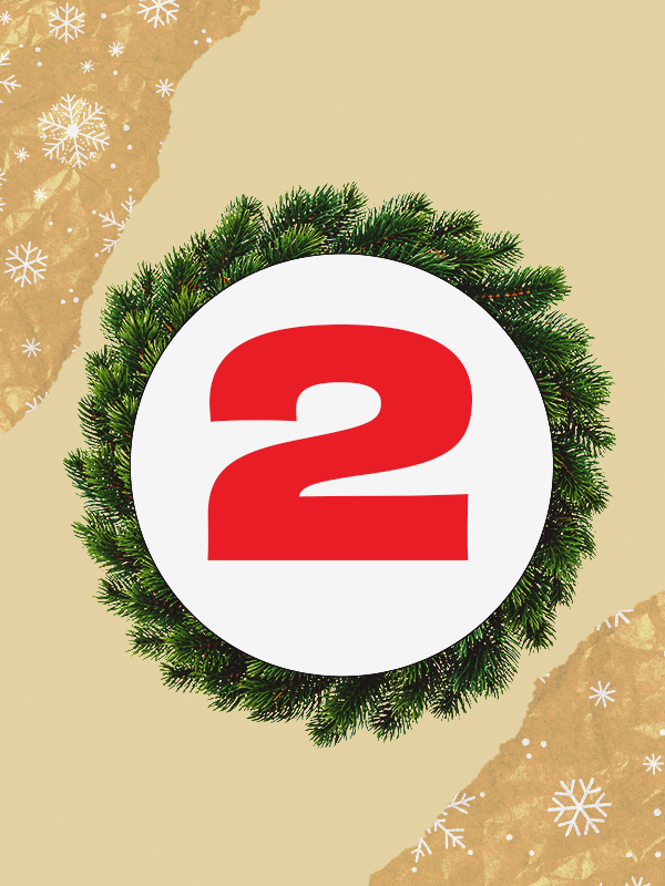 2 days to go until Christmas 2020