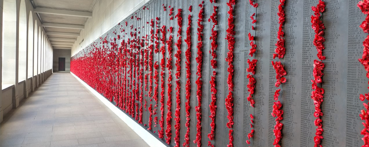 Australian War Memorial Roll of Honour in Canberra ACT