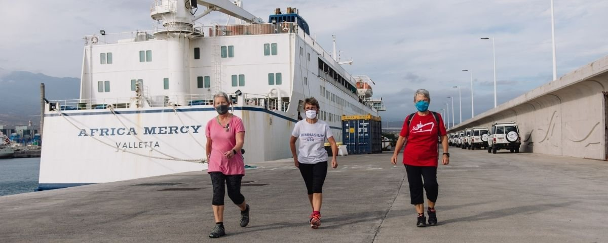 Mercy Ships nurses and medical staff
