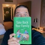 US author Jefferson Bethke with his new book 'Take Back Your Family'